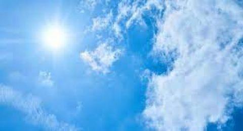 حالة الطقس:ارتفاع على درجات الحرارة