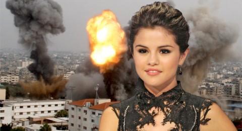 سيلينا غوميز تدعو للصلاة من أجل غزة