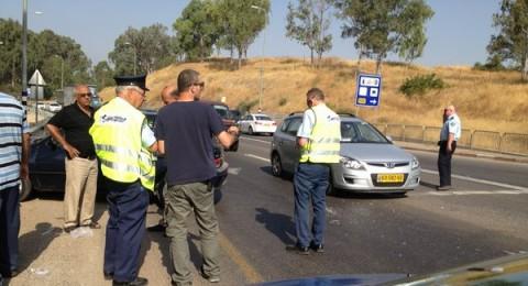 مجدالكروم: حادث طرقات ذاتي واصابة سائق بصورة خطرة