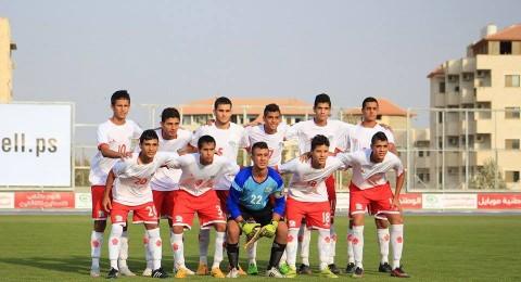 ناشئو الوطني الفلسطيني يودعون التصفيات رغم الفوز على المالديف 3-0