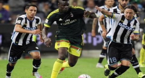 بالوتيللي يعود للتسجيل مع ميلان ويضاعف محنة أودينيزي في الدوري الإيطالي