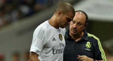 ريال مدريد يؤكد إصابة بيبي في الساق اليسرى