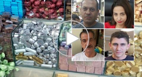 زحمة السير وجنين، الناصرة تعاني ضائقة اقتصادية في العيد