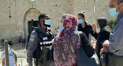 القدس: منع المصلين من خارج البلدة القديمة من الصلاة في الأقصى