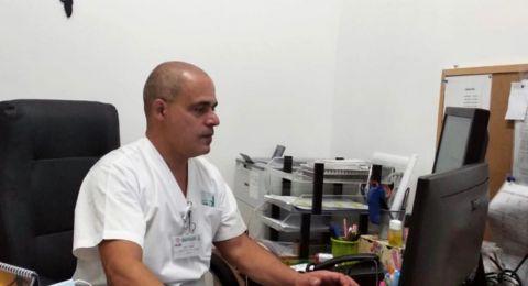 عماد جعفر  أول عربي شغل منصب نائب رئيس قسم الاشعة في مستشفى روتشيلد