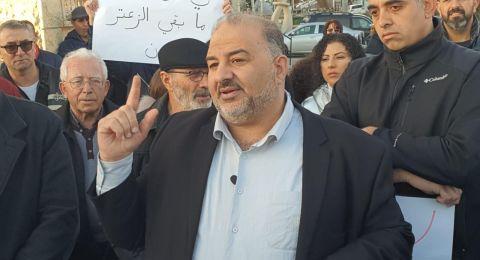 النائب منصور عباس يطالب بإدخال وادي الحمام لقائمة البلدات الحاصلة على تخفيض ضريبي