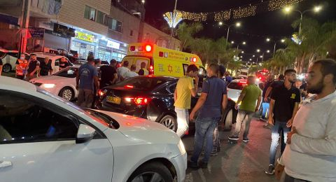 الرينة: اصابتان بحادث طرق على الشارع الرئيسي