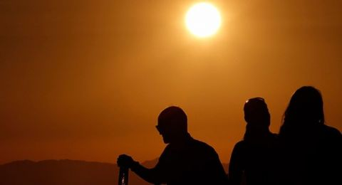 حالة الطقس: اجواء حارة اليوم وانحسار موجة الحر غدا