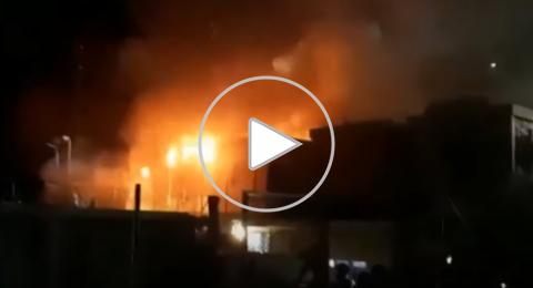للمرة الثانية في أقل من أسبوع حريق جديد في مخيم للاجئين باليونان