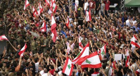 احتجاجات لبنان تدخل يومها الثامن وترقب لكلمة رئيس الجمهورية