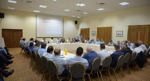 لقاء يجمع بين الشرطة وقيادة المجتمع العربي