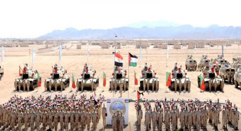 مصر والأردن ينفذان التدريب المشترك