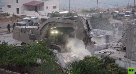 السلطة الفلسطينية تعيد بناء منزل أسير هدمته إسرائيل 4 مرات