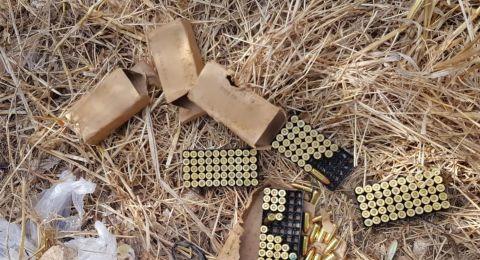 العثور على اسلحة في كفرمندا وتوقيف مشتبه