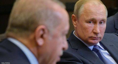بوتين: توصلنا مع أردوغان لحلول مصيرية حول سوريا ويجب تحريرها من الوجود العسكري الأجنبي غير الشرعي