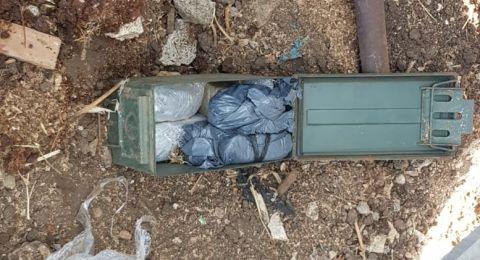 طوبا الزنغرية: العثور على اسلحة وقنابل صوت