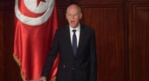 الرئيس التونسي: فلسطين في صدورنا