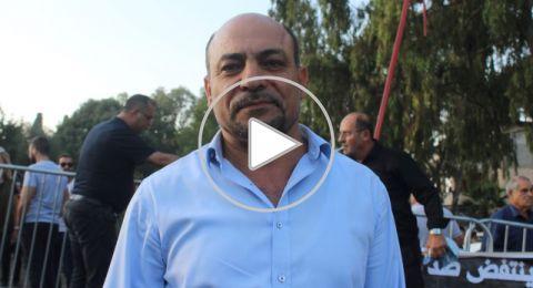 النائب السابق غنايم: الشرطة بدأت بالتحرك من اجل إرضاء الشارع العربي 