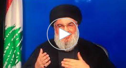 نصرالله: لبنان دخل في مرحلة الاستهداف السياسي