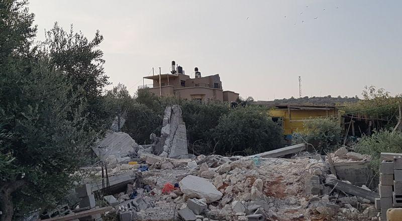 الطيبة: هدم منزل محمد مصاروة في ساعات الفجر!