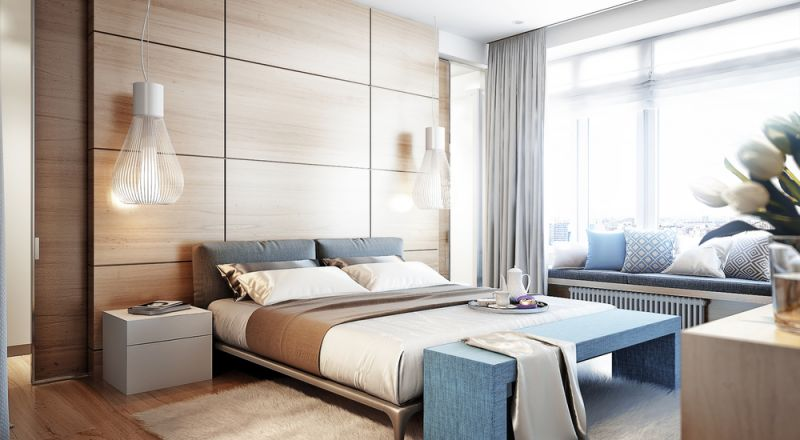 أفضل لون باركيه لغرف النوم