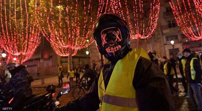 فرنسا تتراجع عن تحقيق أهدافها السياحية بسبب السترات الصفراء