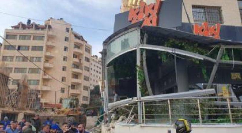 فيديو: لحظة مقتل مواطن بالرصاص خلال حملة ازالة التعديات بنابلس