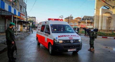 غزة: 12 حالة وفاة و516 إصابة جديدة بكورونا
