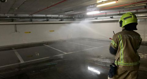حيفا: تسرّب وقود في مبنى المحاكم وإخلاء المباني المجاورة