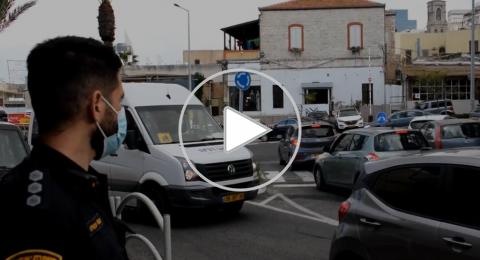 الشرطة تهنئ المواطنين في حيفا وتشدد على أهمية الالتزام بالتعليمات