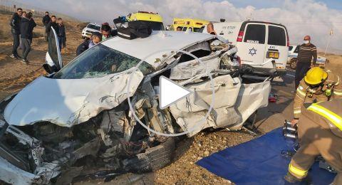 مصرع شخصين في حادثي طرق منفصلين