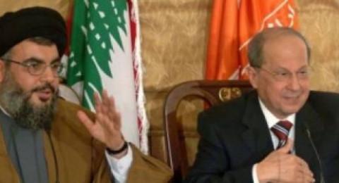 عون يطالب الامم المتحدة بمنع اسرائيل من بناء جدار اسمنتي على حدود لبنان