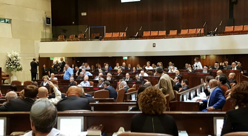 الكنيست تصوت اليوم على قانون فرض السيادة على الضفة