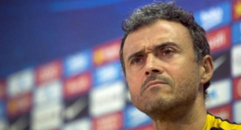 لويس إنريكي يوافق على اعتبار فريقه الاوفر حظا أمام أرسنال