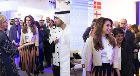 الملكة رانيا .. أناقة ليس لها مثيل