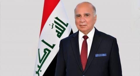 وزير الخارجية العراقي يصل إلى السعودية