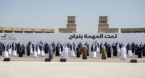 الإمارات: محمد بن راشد ومحمد بن زايد يكرمان فريق