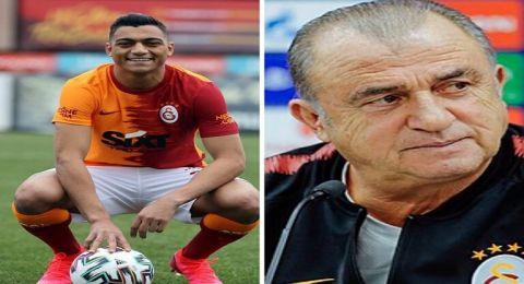 مدرب غلطة سراي يتقدم بطلب لإدارة فريقه بشأن المصري مصطفى محمد