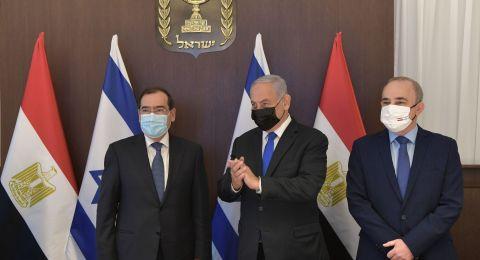 نتنياهو يستقبل وزير الطاقة المصري: عصر جديد من الازدهار و