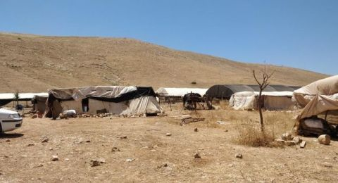 القوات الاسرائيلية تداهم خربة حمصة بالأغوار وينكل بسكانها