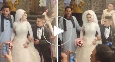 حفل زفاف لطفلين في مصر يثير الجدل!