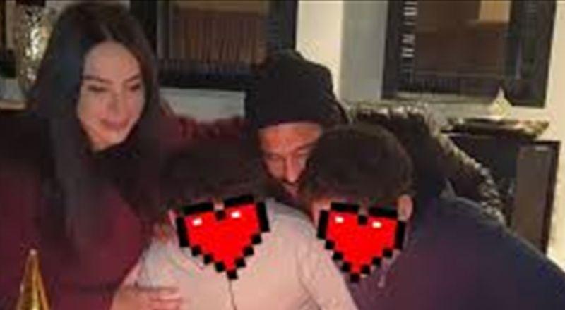 إنتقادات قاسية لممثل مصري شهير وزوجته بسبب صور عائلية