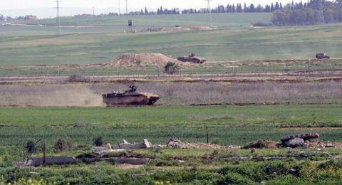 اسرائيل تستهدف المزارعين جنوب قطاع غزة