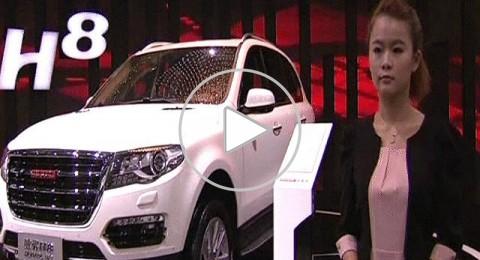 الصين: 800 ألف زائر في معرض شنغهاي للسيارات