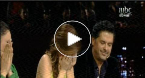 نانسي عجرم تنفجر بالبكاء وتنصف لبنان في أراب آيدول