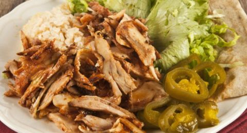 صينية شاورما دجاج