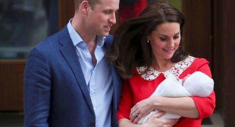 الأمير وليام وكيت ينشران صوراً جديدة لطفلهما الأصغر في ذكرى ميلاده الاول