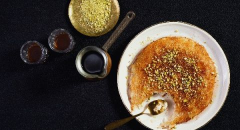 قرّب شهر رمضان .. هيك منعمل كنافة مع جبنة حيمد من مطبخ تنوفا
