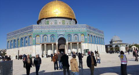 اوقاف القدس تستنكر الدعوات الاسرائيلية لاقتحامات واسعة للمسجد الأقصى الـمبارك