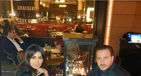 أمل بوشوشة تعيش أجواء رومانسية مع زوجها اللبناني